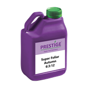 Prestige Super Foliar Autumn 6-3-12