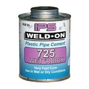 Weld-On Wet 'R' Dry Glue