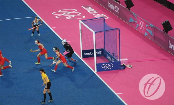 London 2012 Integrated Weighted Hockey Goals