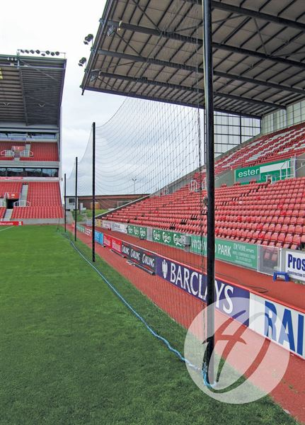 Crowd Protection Ball Stop System - 60m x 5m