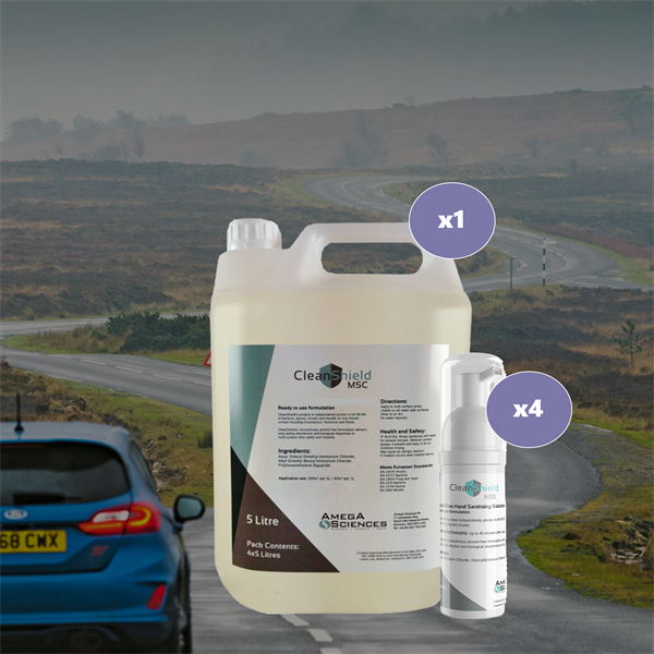 Cleanshield Package Deal - On The Road