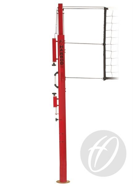 Socketed Competition Telescopic Volleyball Posts