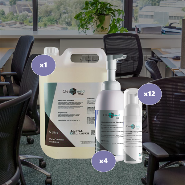 Cleanshield Package Deal - Large Office